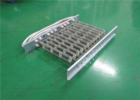 China Multi Function Electric Heat Strips Open Coil Heating Elements 18 Months Warranty factory