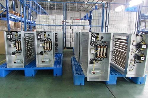 Customized Tutco Electric Duct Heater Pack Contact Scr